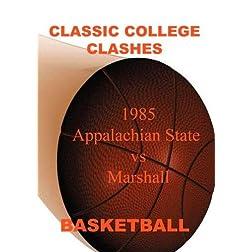 1985 Appalachian State vs Marshall - Basketball