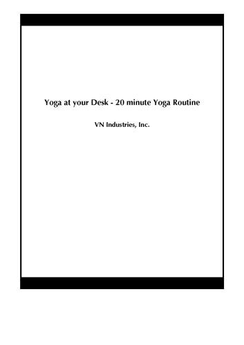 Yoga at your Desk - 20 minute Yoga Routine