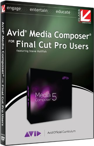Class on Demand:Avid Media Composer for Final Cut Pro Users:Educational Tutorial Training DVD