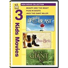 Beauty & Beast & Puss in Boots & Jack Giant Killer