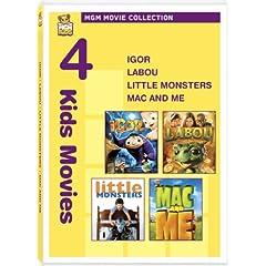 Igor & Labou & Little Monsters & Mac & Me