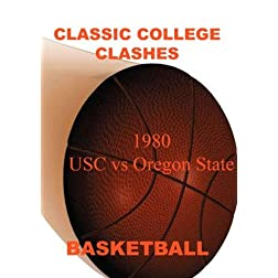 1980 USC vs Oregon State - Basketball