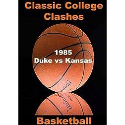 1985 Duke vs Kansas - Basketball