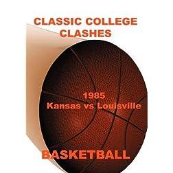 1985 Kansas vs Louisville - Basketball