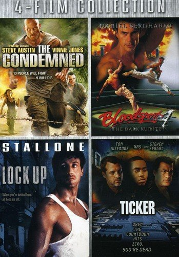 Four-Film Collection (The Condemned / Bloodsport 4 / Lock-Up / Ticker)