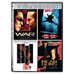 Four-Film Collection (War / Black Mask / Limey / Mean Guns)