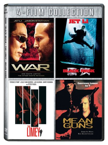 Four-Film Collection (War / Black Mask / Limey / Mean Guns)