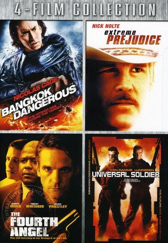Four-Film Collection (Bangkok Dangerous / Extreme Prejudice / The Fourth Angel / Universal Soldier)