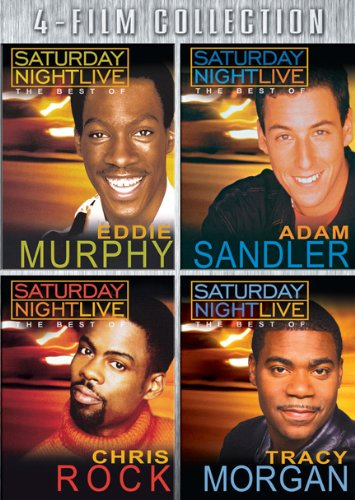 Best of SNL Four-Pack (Eddie Murphy / Chris Rock / Tracy Morgan / Adam Sandler)