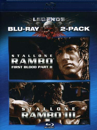Rambo: First Blood II / Rambo III (Two-Pack) [Blu-ray]