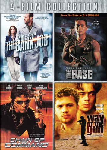 Four-Film Collection (The Bank Job / The Base / Chain of Command / Way of the Gun)