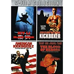 Four-Film Collection (Black Mask / Kickboxer / American Kickboxer 2 / The Blood of Heroes)