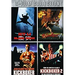 Four-Film Collection (Black Mask / Bloodsport 4 / Kickboxer / Kickboxer 2)