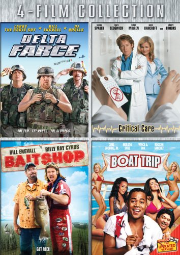 Four-Film Collection (Delta Farce / Critical Care / Bait Shop / Boat Trip)