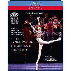 Three Ballets: Concerto / Elite Syncopations [Blu-ray]