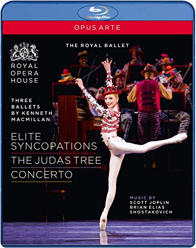 Three Ballets: Concerto / Elite Syncopations [Blu-ray]