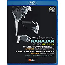 Violin Concerto 5 / Symphony 9 [Blu-ray]