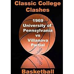 1969 University of Pennsylvania vs Villanova - PARTIAL GAME - Basketball