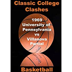 1969 University of Pennsylvania vs Villanova - PARTIAL GAME - Basketball
