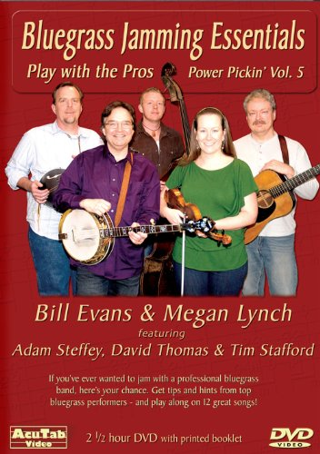 Bluegrass Jamming Essentials - Power Picking Vol. 5 DVD Playing with the Pros