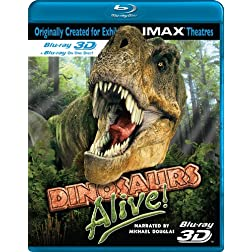 Dinosaurs Alive! [Blu-ray 3D]