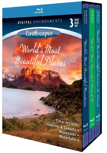 Living Landscapes: World's Most Beautiful Places [Blu-ray]