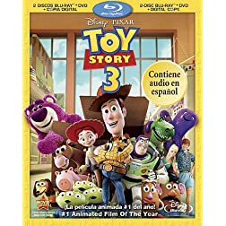 Toy Story 3 (Four-Disc Blu-ray/DVD Combo + Digital Copy) (Spanish Edition)