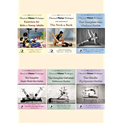 Classical Pilates 6 DVD Set Amazon Exclusive
