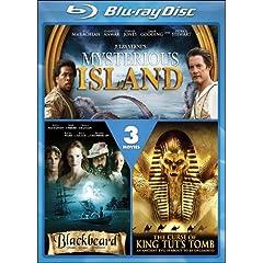 Mysterious Island / Blackbeard / The Curse of King Tut's Tomb [Blu-ray]