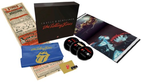 Ladies & Gentlemen: The Rolling Stones- Deluxe Edition 3DVD Numbered Box Set