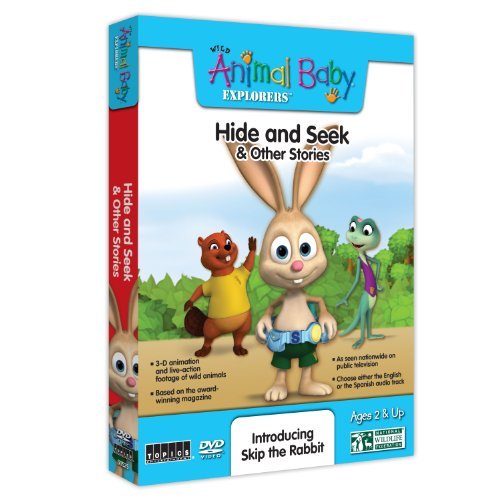 Wild Animal Baby Explorers: Hide & Seek & Other Stories