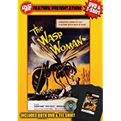 Wasp Woman DVDTee (Large)