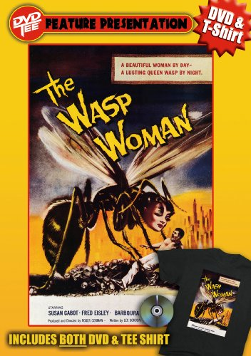 Wasp Woman DVDTee (Large)