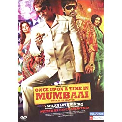 Once Upon A Time In Mumbai (New Hindi Film / Bollywood Movie / Indian Cinema DVD)
