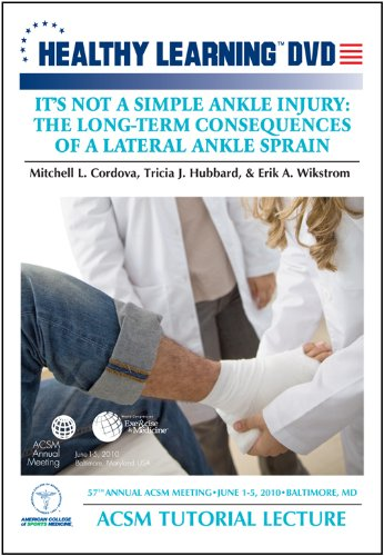 It s Not a Simple Ankle Injury: The Long-Term Consequences of a Lateral Ankle-Sprain