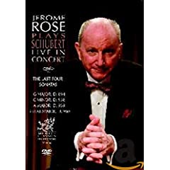 Jerome Rose Plays Schubert Live in Concert: The 4 Last Sonatas