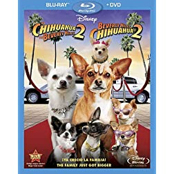 Beverly Hills Chihuahua 2 (Two-Disc Blu-ray/DVD Combo) (Spanish Edition)