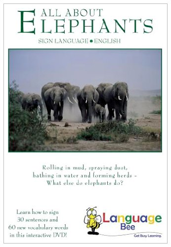 All About Elephants: Interactive Sign Language DVD