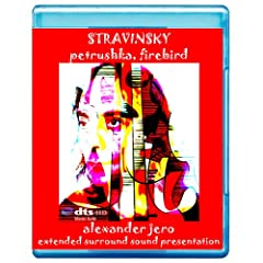Stravinsky: Petrushka, Firebird Suite (Includes Alexander Jero conceptual 7.1 presentation) [7.1 DTS-HD Master Audio Disc] [Blu-ray]