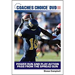 Power Run and Play-Action Pass From the Spread Gun
