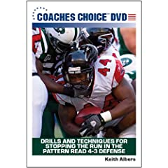 Drills and Techniques for Stopping the Run in the Pattern Read 4-3 Defense