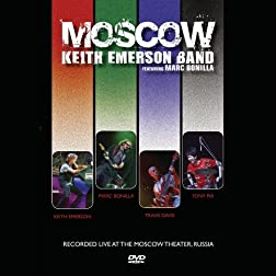 Keith Emerson Band featuring Marc Bonilla- Moscow DVD