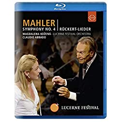 Symphony 4 / Ruckert Lieder [Blu-ray]