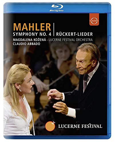 Symphony 4 / Ruckert Lieder [Blu-ray]
