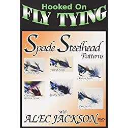 Hooked on Fly Tying: Spade Steelhead Patterns