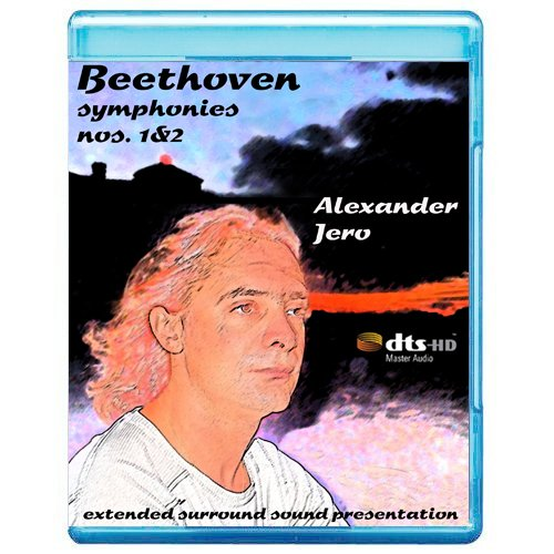 Beethoven: Symphonies Nos. 1 & 2 - The New Dimension of Sound Symphonic Series [7.1 DTS-HD Master Audio Disc] [Blu-ray]