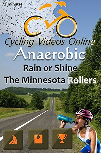The Minnesota Rollers, Rain or Shine! Anaerobic 3.5 Virtual Indoor Cycling Training / Spinning Fitness and Weight Loss Videos