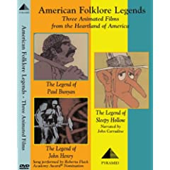 American Folklore Legends: Three Animated Films
