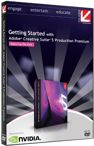 Class on Demand:Getting Started with Adobe CS5 Production Premium Educational Tutorial Training DVD