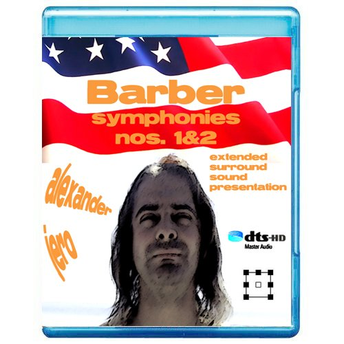 Barber: Symphonies Nos. 1 & 2 - The New Dimension of Sound Symphonic Series [7.1 DTS-HD Master Audio Disc] [Blu-ray]